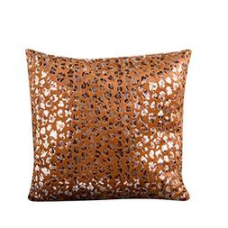 Pillow Case, NXDA Gold Stamping Polyester Throw Pillows Cove