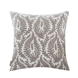 HWY 50 Grey Throw Pillows Covers 18 x 18 inch, 1 Pcs Cotton