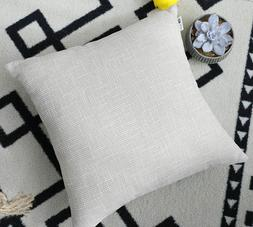 Kevin Textile Pillow Covers Decorative Lined 24 x 24 Beige T
