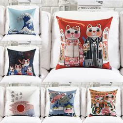 Pillow Cushion Cover Spring Throw Pillowcase Pillow Covers H