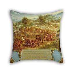 Pillow Shams Of Oil Painting Attributed To Jos? De P?ez - Th