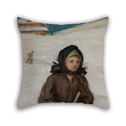 Artistdecor Pillowcover Of Oil Painting Teodor Axentowicz -