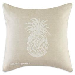 Tommy Bahama Pineapple Accent Pillow, Size One Size - Beige