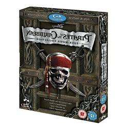 Pirates of the Caribbean 1 - 4 Movie Collection BLU-RAY COMP