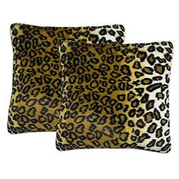 Sweet Home Collection Plush Pillow Faux Fur Soft and Comfy T