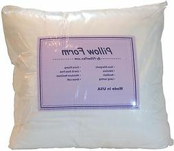 Pillowflex Poly Cotton Pillow Form Inserts Square and Rectan