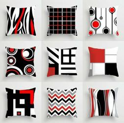 Polyester Creative Geometric Pillow Case Waist Throw Cushion