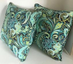 Pillow Perfect Outdoor Pretty Paisley Throw Pillow, 18.5-Inc