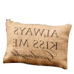 """Country House Collection Primitive Cotton 12"""" x 8"""" Throw Pil"""