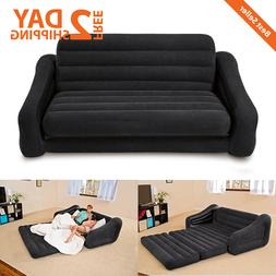 Queen Size Inflatable Bed Couch Bed Sofa Sectional Sleeper F