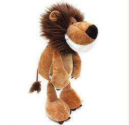 "Katedy 9.8"" Realistic Stuffed Animal Lion for Baby Toddlers,"