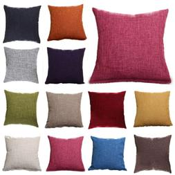 Home Colorful Throw Waist Pillow Cases Sofa Decor Outdoor Sq