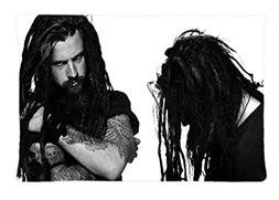 Rob Zombie Custom Cotton & Polyester Soft Rectangle Pillow C