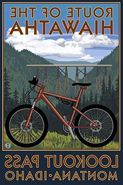 Route of the Hiawatha St. Regis, Montana - Mountain Bike Sce