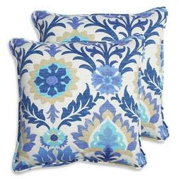 Outdoor Santa Maria Azure 18.5-inch Throw Pillow