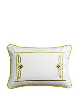 Echo Sardinia 12-Inch by 18-Inch Polyester Fill Pillow, Ease