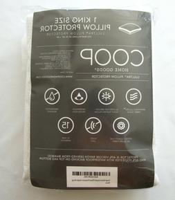 Sealed COOP Home Goods 1 King Size Lulltra Pillow Cover Prot