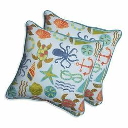 Pillow Perfect Seapoint Throw Pillow