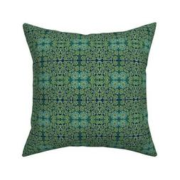 Shakespeare Arts And Crafts Throw Pillow Cover w Optional In