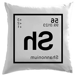 SHANNON - Periodic Element Cushion Cover Pillow Case Cover 2