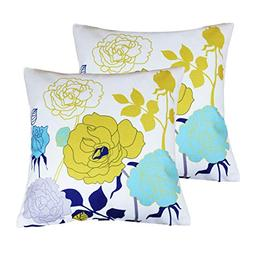 sykting Sofa Pillow Cases Square Throw Pillow Covers 18 x 18