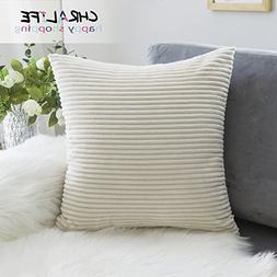 Throw Pillow Case Decorative Sofa Whtie Soft Handmade Cushio