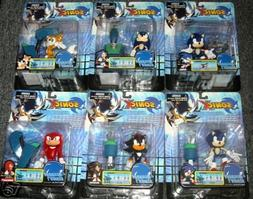 "Sonic X Series 1 Megabots - 5"" Figure SET of 6 with Shadow"