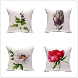 "Square 18"" Cushion Without <font><b>Insert</b></font> Flower"