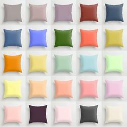 Square Candy Colors Throw Pillow Case Home Sofa Cushion Déc