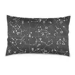 Square Decorative Throw Pillow Case Cushion Cover,12 Constel