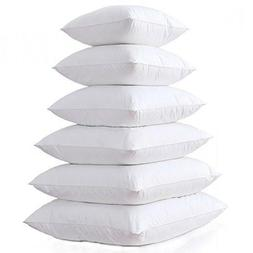 Square Pillow Form Insert Hypo-allergenic Made in USA