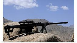 Stocktrek Images Poster Print entitled A Barrett .50-caliber