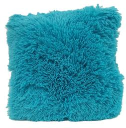 super soft faux fur decorative throw pillow