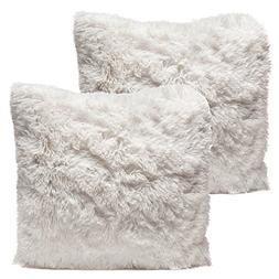 Chanasya Super Soft Shaggy Chic Fuzzy Faux Fur Elegant Cozy