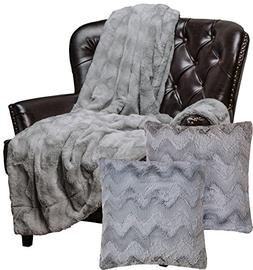 Chanasya Super Soft Warm Elegant Cozy Fuzzy Fur Fluffy Faux