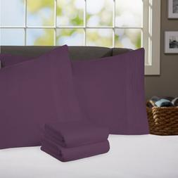 Sweet Home Collection Supreme 1800 Series 4pc Bed Sheet Set