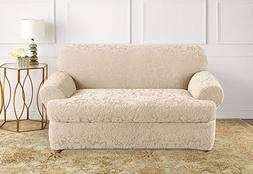 Sure Fit Stretch Jacquard Damask Separate Seat T-cushion Lov