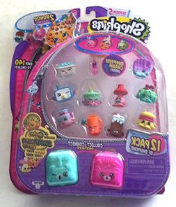 Swapkins Shopkins 12 Pack w/ Gold Kooky Cookie