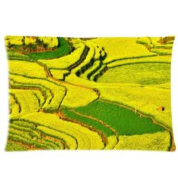 Terraced Fields Background Comfortable Cotton&Polyester Pill