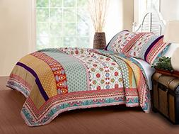 Greenland Home Thalia Quilt Set, 2-Piece Twin