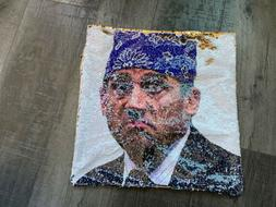 The Office | Throw Pillow Cover | Michael Scott Prison Mike