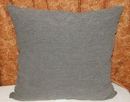 threshold grey throw toss pillow basketweave waffle