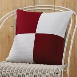 VHC Americana Decorative Throw Pillow Cover Case Sofa Couch