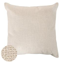 Deconovo Throw Cushion Faux Linen Home Decorative Hand Made