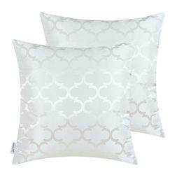 Pack of 2 CaliTime Cushion Covers Throw Pillow Cases Shells