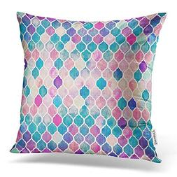 Accrocn Throw Pillow Covers hipster colorful Mermaid fish sc