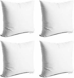 throw pillow inserts set of 4 soft