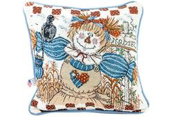 throw pillow scare crow pillows down alternative
