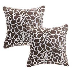 March Flower Throw Pillows Covers 100% Cotton Throw Pillows