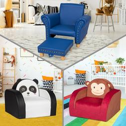 Toddler Kids Sofa Chair Soft Foam Armchair Lounge Couch Chil